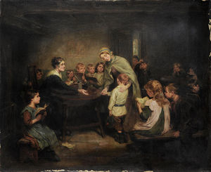 Ralph Hedley - The New Scholar