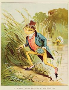 Randolph Caldecott - A Frog He Would A-wooing Go