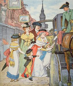 Randolph Caldecott - Family Life In Colonial America