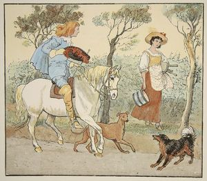 Randolph Caldecott - Where Are You Going, My Pretty Maid