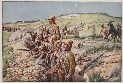 Fix Bayonets - by Richard Caton De Woodville (1856-1927, United States)