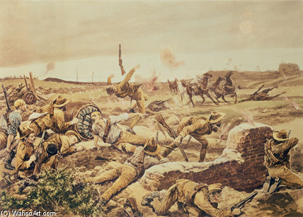 Mafeking, Boer War by Richard Caton De Woodville (1856-1927, United States) | WahooArt.com