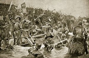 Richard Caton De Woodville - The Battle Of Towton -