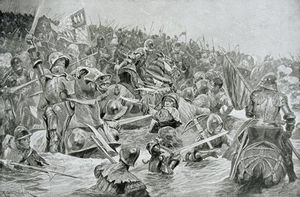 Richard Caton De Woodville - The Battle Of Towton