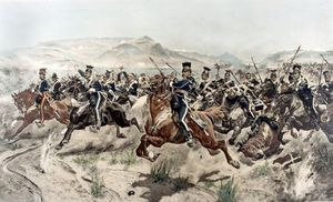Richard Caton De Woodville - The Charge Of The Light Brigade