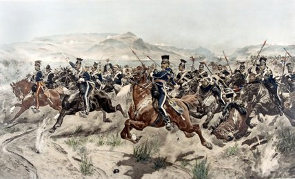 The Charge Of The Light Brigade by Richard Caton De Woodville (1856-1927, United States) | WahooArt.com