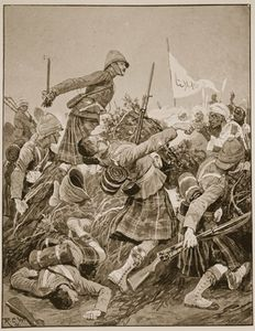 Richard Caton De Woodville - The Seaforth Highlanders Storming