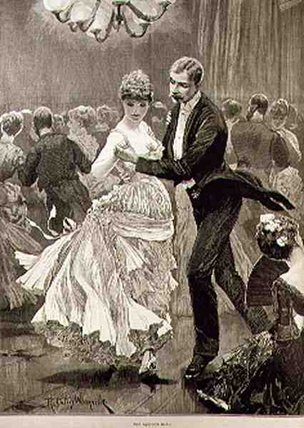 The Squire's Ball by Richard Caton De Woodville (1856-1927, United States)