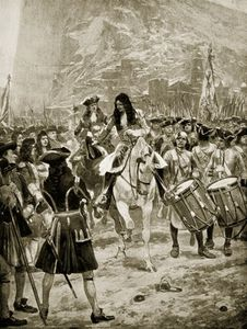 Richard Caton De Woodville - The Surrender Of Gibralter To The English