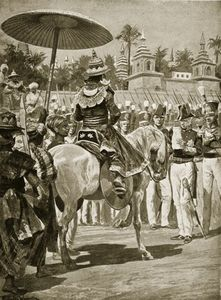 Richard Caton De Woodville - The Surrender Of Rangoon To The British -