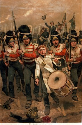 Up, Guards, And At Them by Richard Caton De Woodville (1856-1927, United States) | WahooArt.com