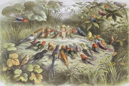 A Rehearsal In Fairy Land by Richard Dickie Doyle (1824-1883, United Kingdom)