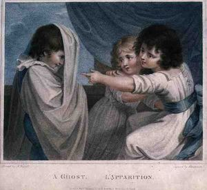 Richard Westall - A Ghost