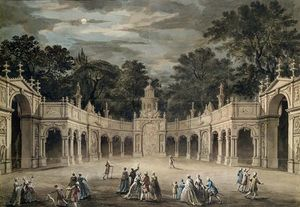 Robert Adam - The Illuminations At Buckingham House For King_2