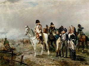 Robert Alexander Hillingford - The Turning Point At Waterloo -