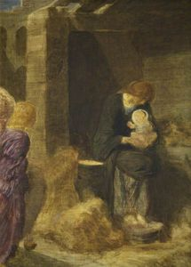 Robert Anning Bell - The Nativity