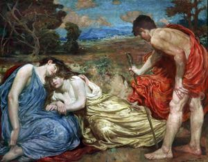Robert Fowler - Sleeping Nymphs Discovered By A Shepherd