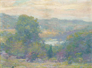 Robert William Vonnoh - Eventide