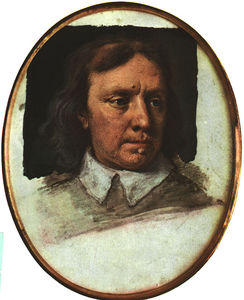 Samuel Cooper - Portrait Of Oliver Cromwell