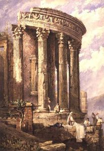 Samuel Prout - Tivoli, Temple Of The Sibyl