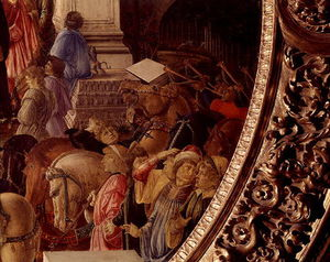 Sandro Botticelli - The Adoration Of The Kings -