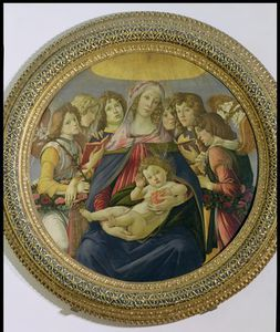Sandro Botticelli - Virgin And Child With Six Angels