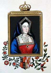 Sarah Countess Of Essex - Portrait Of Catherine Of Aragon )