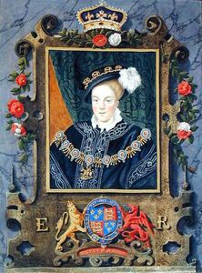 Sarah Countess Of Essex - Portrait Of Edward Vi King Of England, Aged About 14 From 'memoirs Of The Court Of Queen E