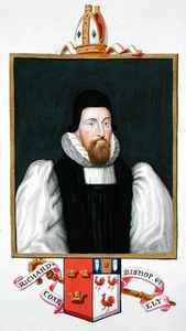 Sarah Countess Of Essex - Portrait Of Richard Cox Bishop Of Ely From -memoirs Of The Court Of Queen Elizabeth