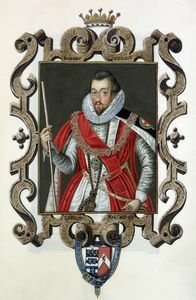 Sarah Countess Of Essex - Portrait Of Robert Cecil 1st Earl Of Salisbury From 'memoirs Of The Court Of Queen Eliza