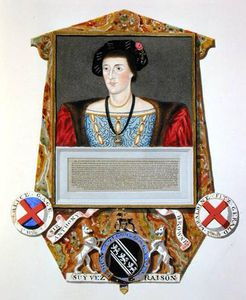 Sarah Countess Of Essex - Portrait Of Sir Anthony Browne )