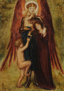 Simeon Solomon - St Michael Of Good Children