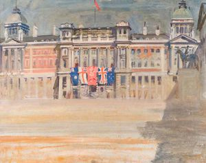 Alfred James Munnings - A View Of Whitehall