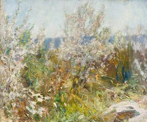 Alfred James Munnings - Blossom