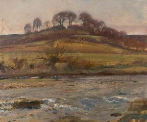 Alfred James Munnings - Brightworthy Ford, Withypool, Exmoor - (11)