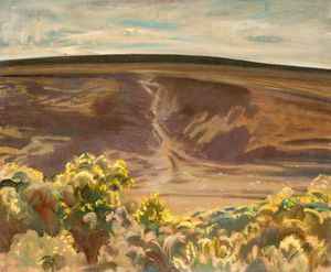 Alfred James Munnings - Exmoor With Gorse