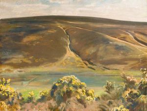Alfred James Munnings - Mill Hill, Oar, Exmoor