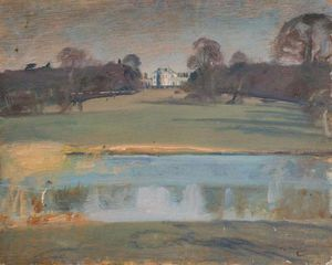 Alfred James Munnings - View With Tendring Hall, Suffolk
