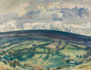 Alfred James Munnings - Withypool Hill, Exmoor