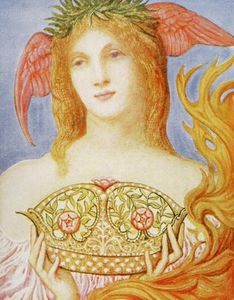 George Richmond - The Crown Of Peace