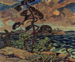 Arthur Lismer - A September Gale, Georgian Bay