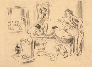 Arthur Lismer - Artists At Work