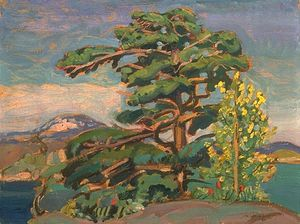 Arthur Lismer - Ash And Pine, Georgian Bay