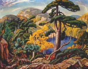 Arthur Lismer - Bright Land
