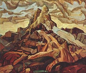Arthur Lismer - Cathedral Mountain
