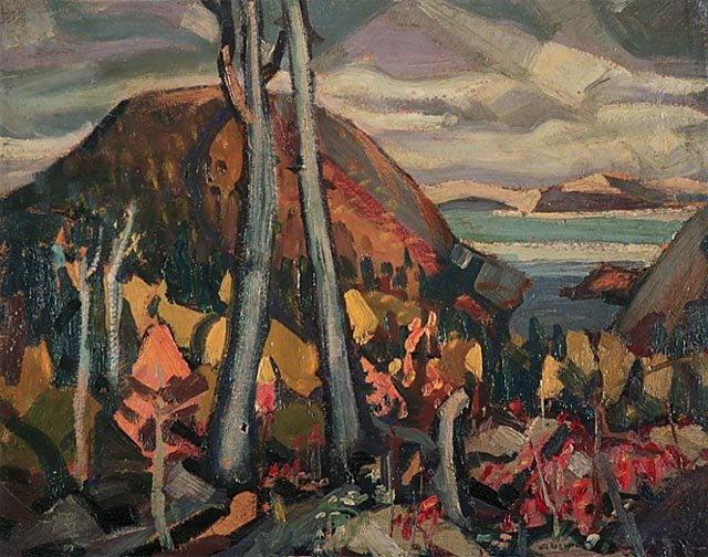 Lake Superior Country by Arthur Lismer (1885-1969, United Kingdom) | Painting Copy | WahooArt.com