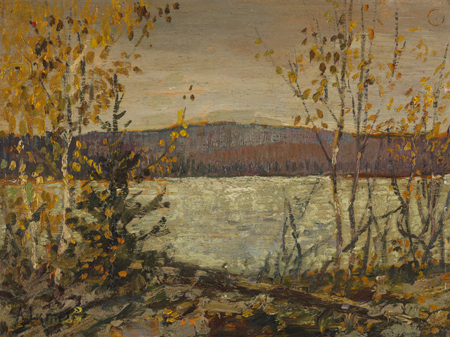 Lake by Arthur Lismer (1885-1969, United Kingdom) | Oil Painting | WahooArt.com