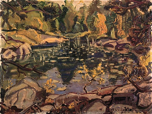 Little Lake by Arthur Lismer (1885-1969, United Kingdom) | Museum Quality Reproductions | WahooArt.com