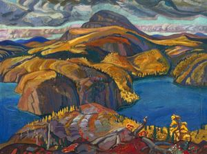 Arthur Lismer - October On The North Shore, Lake Superior