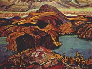 Arthur Lismer - October, North Shore, Lake Superior